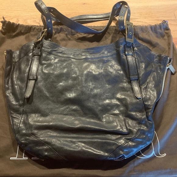 Kooba Handbags - Black Original Kooba Tote